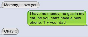 funny images, mom text, funny text