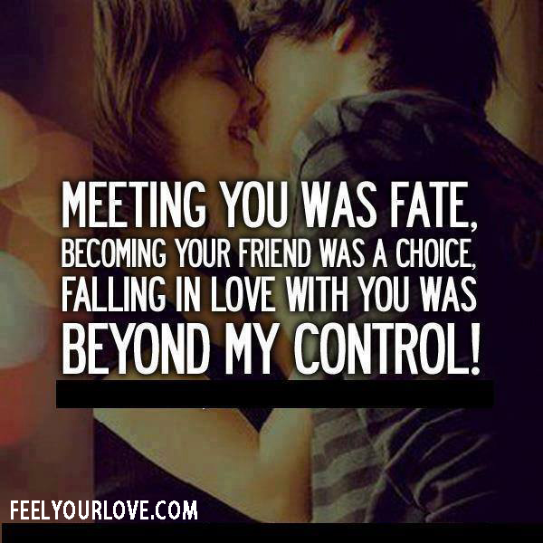 Quotes About Fate In Relationships. QuotesGram