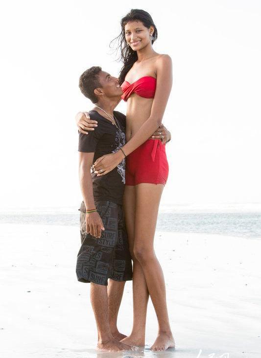 Elisany-da-Cruz-Silva, tallest girl, tallest girl in world
