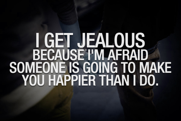Quotes of jealousy in a relationship