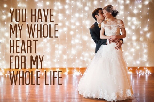 Famous romantic Wedding wishes quotes | FeelYourLove